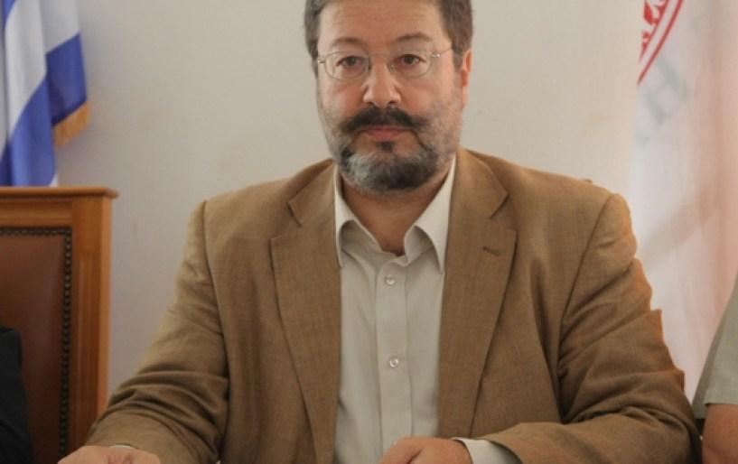 Ο Μ. Κριτσωτάκης στη Μεσαρά
