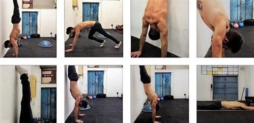 Hand-Stand-progression
