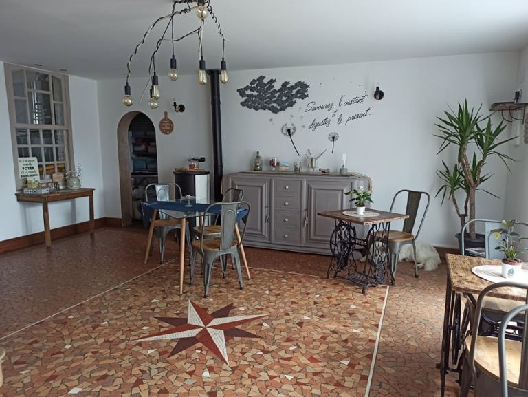 Salle de Petit-Déjeuner - At'Home
