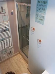 Chambre pupe - Salle de douche