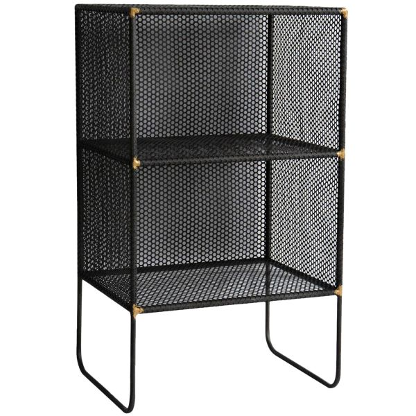 Bookcases and Shelves   Bookcases and Shelf Collection   At Home     2 TR CUBE MESH METAL SHELF
