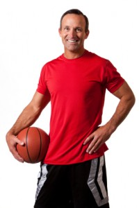 Staying powerful over 40: Basketball and Tennis