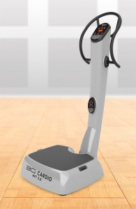 The 3G Cardio AVT 3.0 Vibration Machine (MSRP $2,499, $1,999 AHF price) would be a good addition to any home gym and help make exercising more fun and efficient.