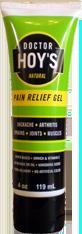 Dr. Hoys Pain Relief Gel 4oz