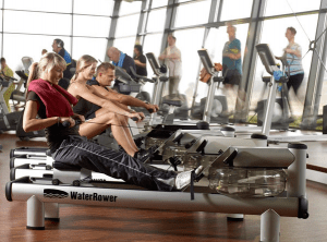 The WaterRower M1 HiRise comes with a top quality S4 Monitor.