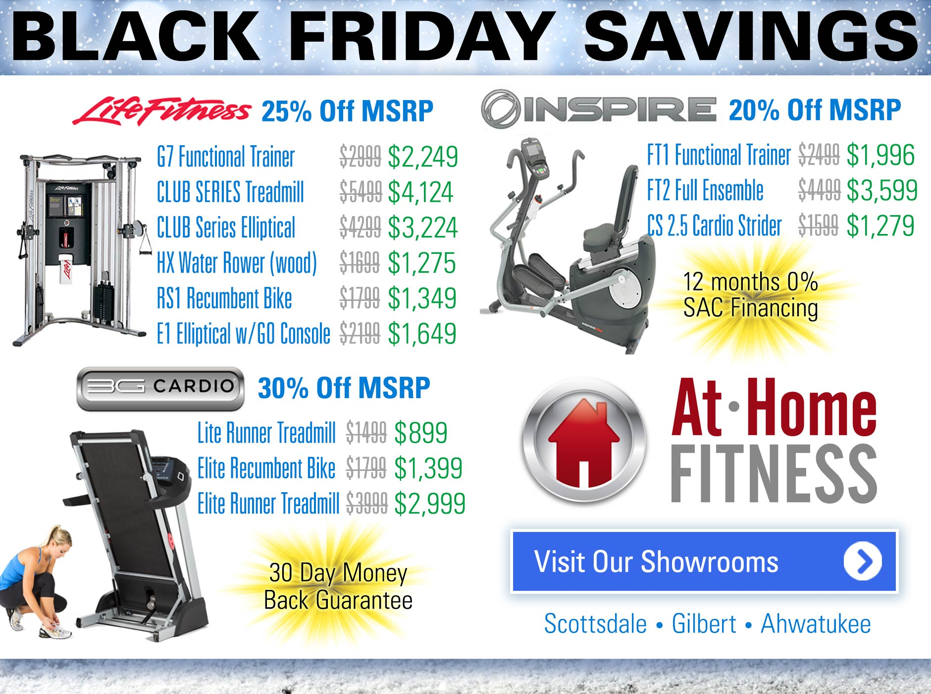 At home fitness black Friday savings 2017