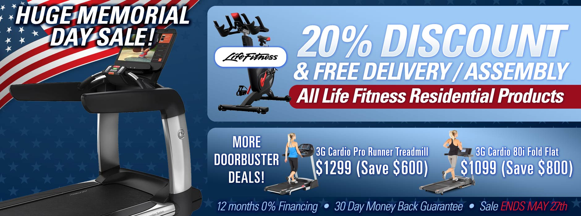 Life Fitness Super Sale Memorial Day Sale