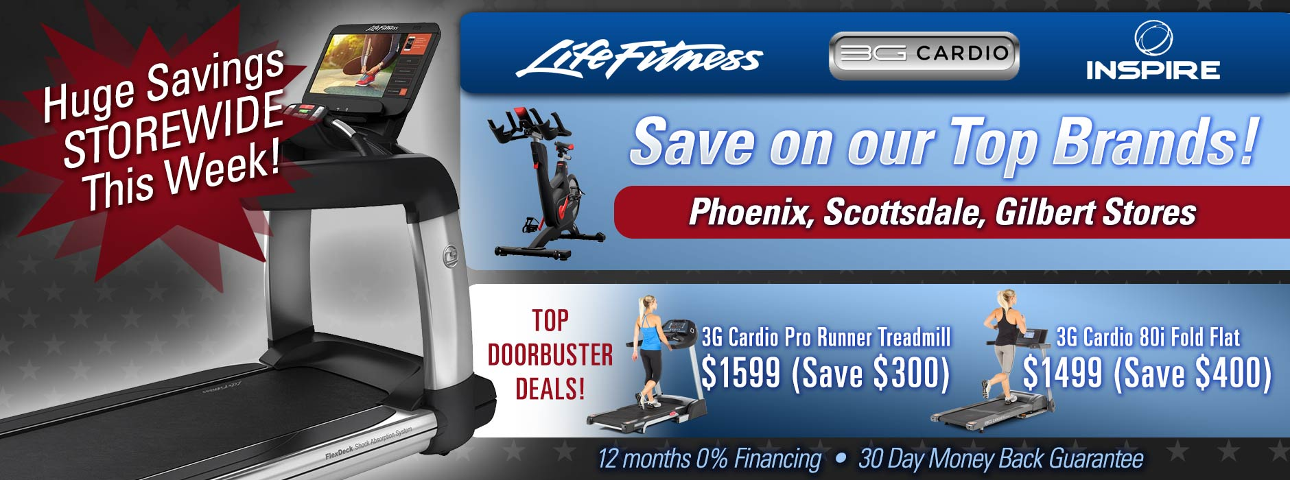 Sale on now at At Home Fitness Stores in Arizona