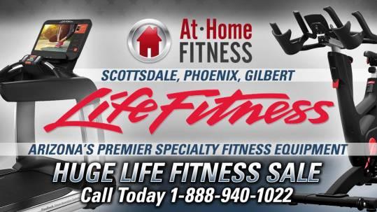 At Home Fitness holding huge sale on Life Fitness products