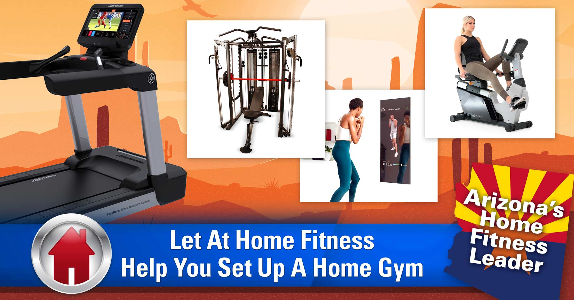 Let At Home Fitness Help You Set Up A Home Gym