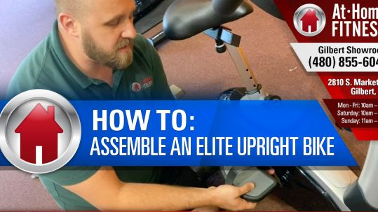 Easy to follow assembly tips for 3G Cardio Elite UB Upright Bike