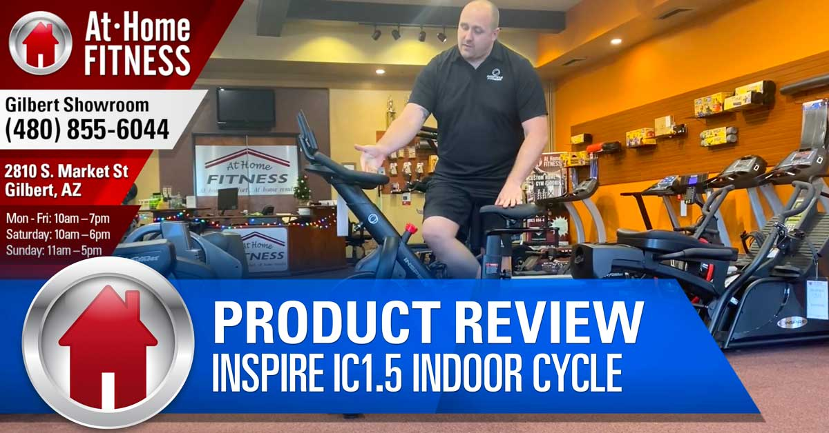 Inspire Ic1 5 Indoor Cycle Brings Spin Class To Home Gym At Great Price