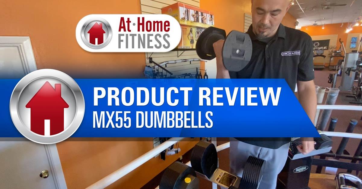 MX55 Dumbbells At Home Fitness Scottsdale