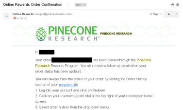 pinecone research proof