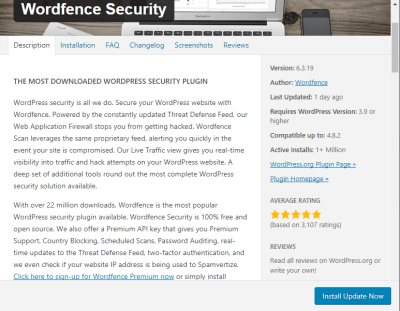 wordfence wordpress website security eCommerce online selling