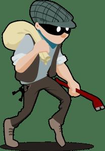 burglar thief eCommerce online selling mistakes errors