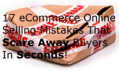 damaged package box eCommerce online selling mistakes errors