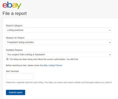 report block member buyer seller eBay online selling tips eCommerce