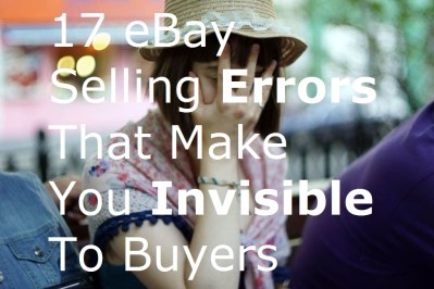 facepalm 17 eBay Selling Errors That Make You Invisible To Buyers mistakes online eCommerce