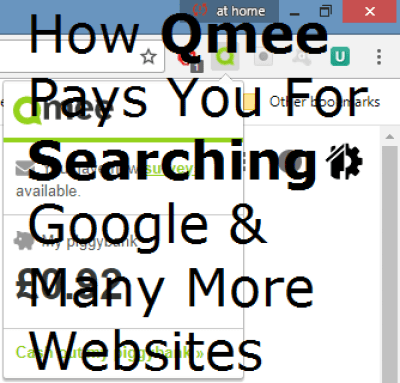 How Qmee Pays You For Searching Google & Many More Websites