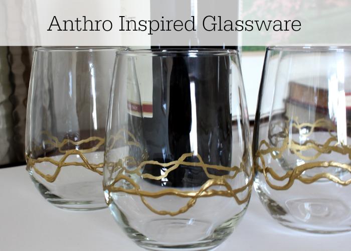 Anthro Inspired Glassware