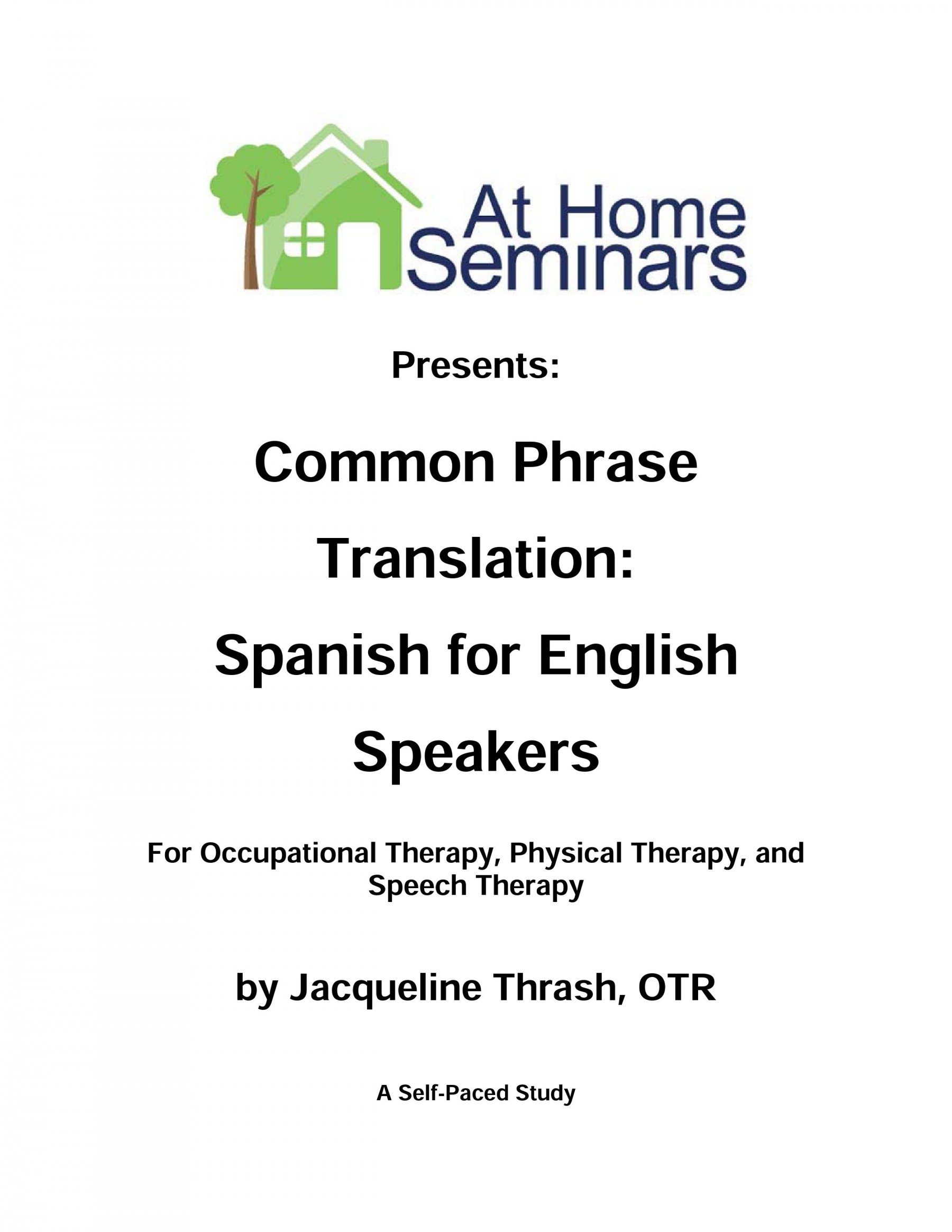 Common Phrase Translation Spanish For English Speakers