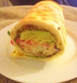 Shawarma Inspired Wrap