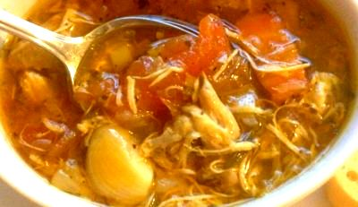 Sweet and Spicy Chicken Soup