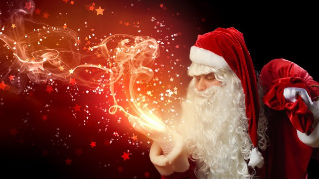 """The Magic of Santa: """"He's real, right?"""""""