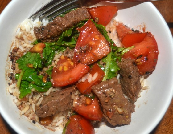 Steak and Kale Stir-fry