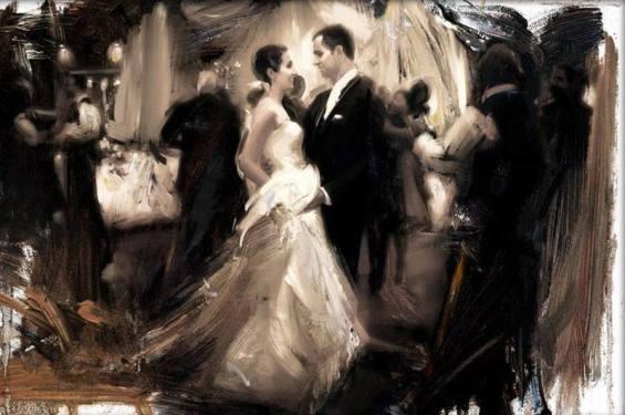 Newport Brushstrokes Fine Art Inc Wedding