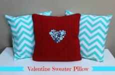 Valentine Sweater Pillow