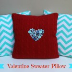 Valentine Sweater Pillow