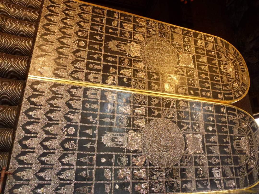 Epigraphes Thaï massage Wat Pho