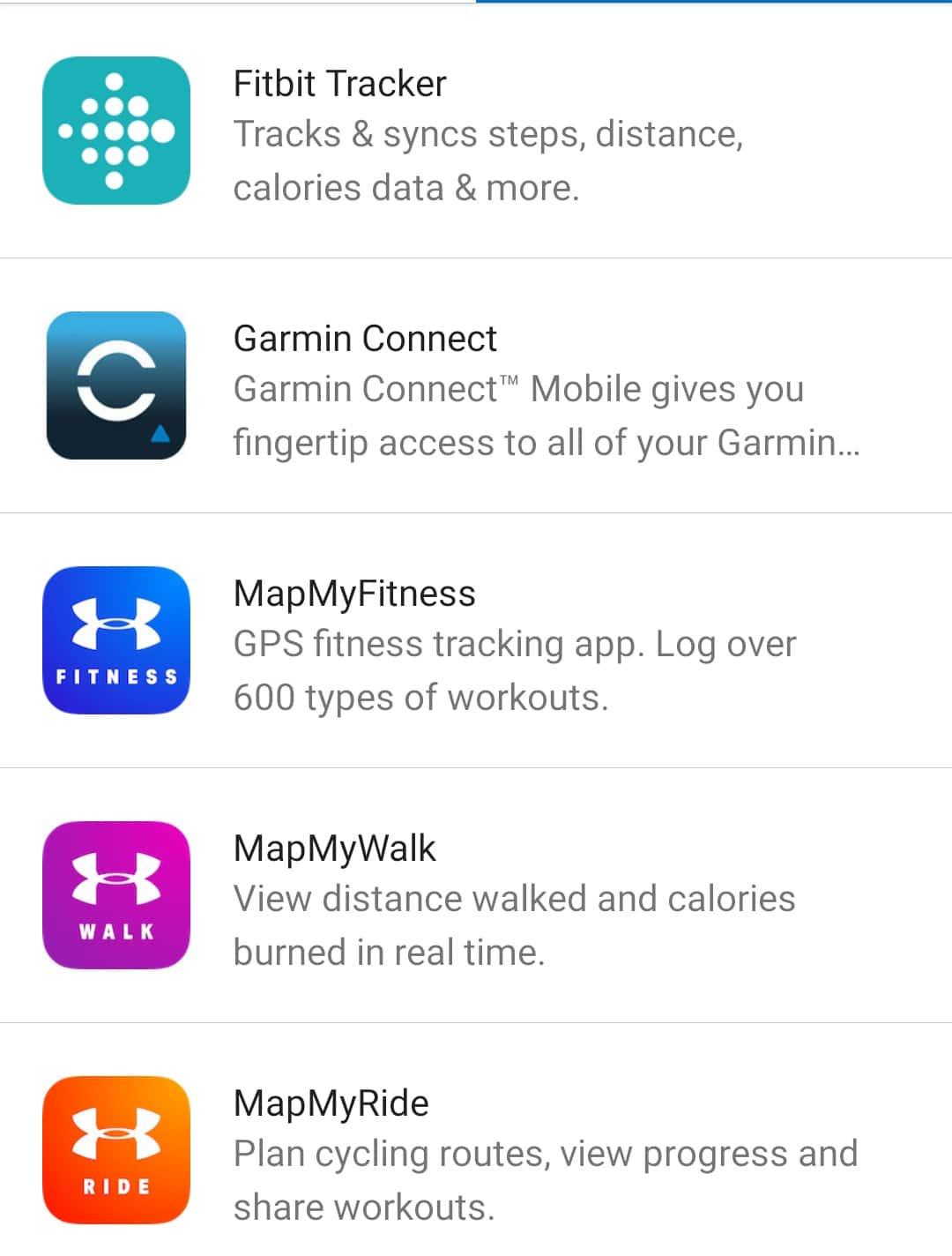 Myfitnesspal - appli connectées02