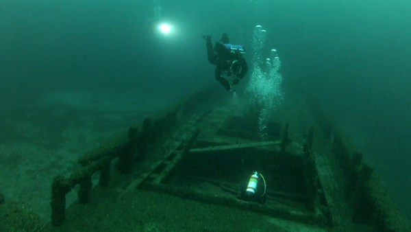 the wreck of The Northerner