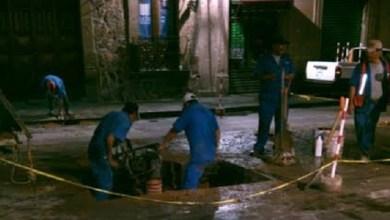 Resaltó que en estas últimas semanas se han detectado varias fugas sobre esta importante avenida, lo cual se debe a que la línea de agua que pasa por la Avenida Madero cuenta con más de 50 años