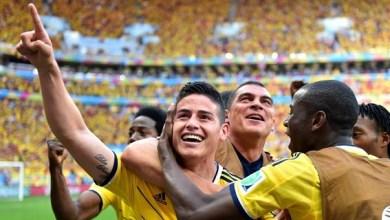 Colombia resolvió hoy en apenas seis minutos, en el 64 y el 70. Y Gervinho descontó en el 74 gracias a una genialidad.