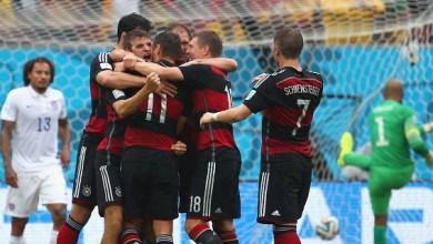 Thomas Müller marcó su cuarto gol del certamen, noveno en copas del mundo, a los 55 minutos para guiar al triunfo a los pupilos de Joachim Low, quien así superó a su amigo y homólogo Jürgen Klinsmann