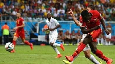 Los goles del triunfo belga fueron de Kevin De Bruyne en el minuto 92 y de Romelu Lakaku en el 104, mientras Julian Green le dio esperanza a su escuadra en el minuto 106, pero no le alcanzó