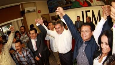 Torres Piña informó que este día también ya fueron registrados en tiempo y forma a todos sus candidatos para 112 municipios y 24 distritos electorales