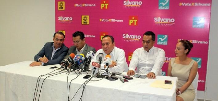 PRD primera fuerza en Michoacán. Conferencia de prensa