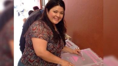 Paulina Torres, candidata del PAN, acudió a votar