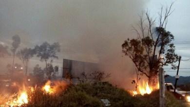 Personas irresponsables siguen provocando incendios y contaminación en la capital michoacana (FOTO: MARIO REBO)