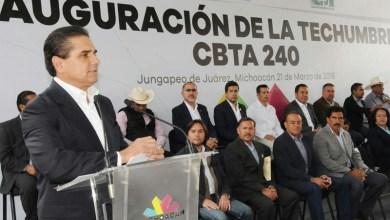Aureoles Conejo destacó que la entidad tiene todo para salir adelante, principalmente su gente emprendedora y exitosa