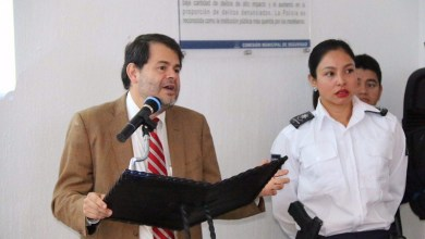 En presencia de la Mesa de Seguridad y Justicia Ciudadana, el comisionado de Seguridad Municipal, Bernardo León, transparentó los trabajos que se han realizado en la materia
