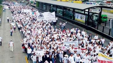 En Guanajuato, más de 50 mil personas marcharon en las ciudades de León, San Miguel de Allende, Celaya, Salamanca e Irapuato