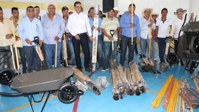 Cabe resaltar que durante el evento, Cutberto Almazán Arreola, comisariado del Ejido de Huetamo, agradeció a los presidentes municipales y autoridades estatales los apoyos otorgados a favor del campo