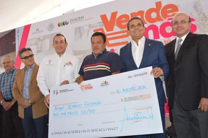 Lleva Sedeco apoyos a 67 municipios del estado, beneficiando a más de 2 mil unidades económicas