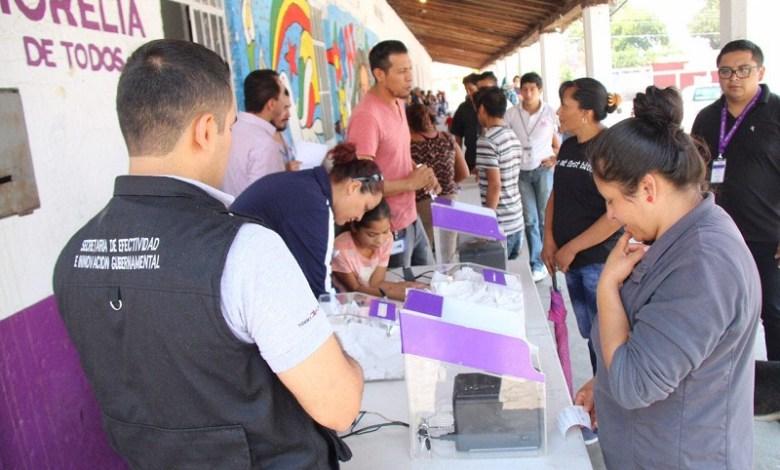 Sin incidencias se reportó este sufragio, destacó, el secretario del Ayuntamiento, Jesús Ávalos Plata